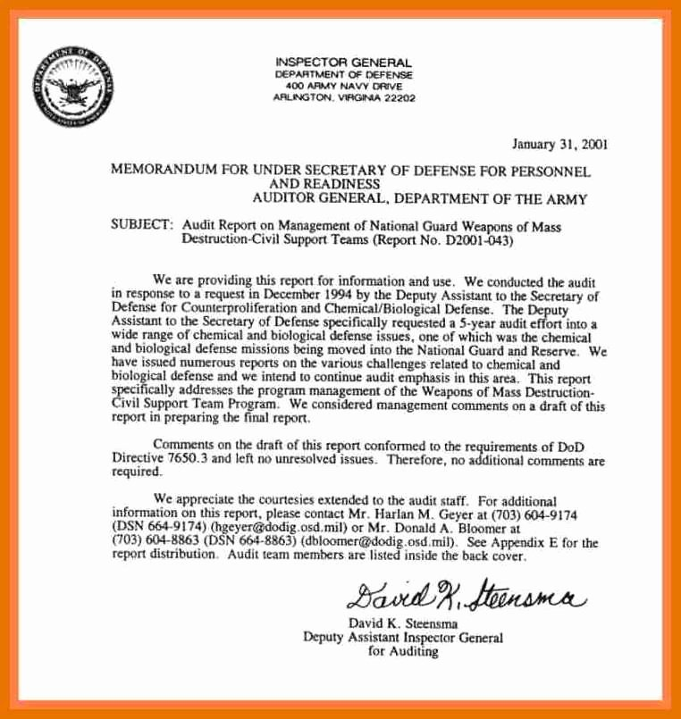 Department Of the Navy Letterhead Template Lovely 9 10 Army Letterhead