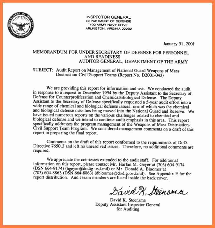 Department Of the Navy Letterhead Template Unique 8 Department Of Defense Letterhead Template