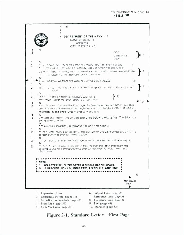 Department Of the Navy Letterhead Template Unique Department Of Defense Letterhead Template