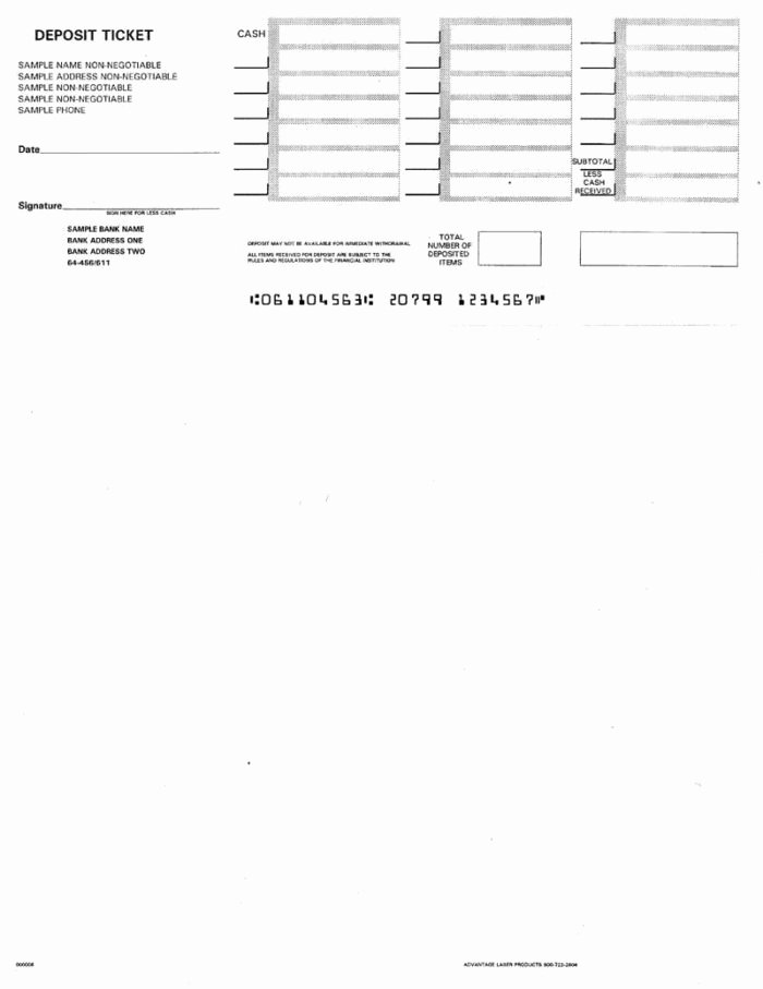 Deposit Slips Template Word Beautiful Blank Deposit Slip Template Free Templates Resume