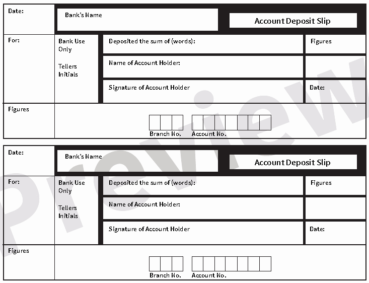 Deposit Slips Template Word Inspirational 5 Free Deposit Slip Templates Small Business Resource