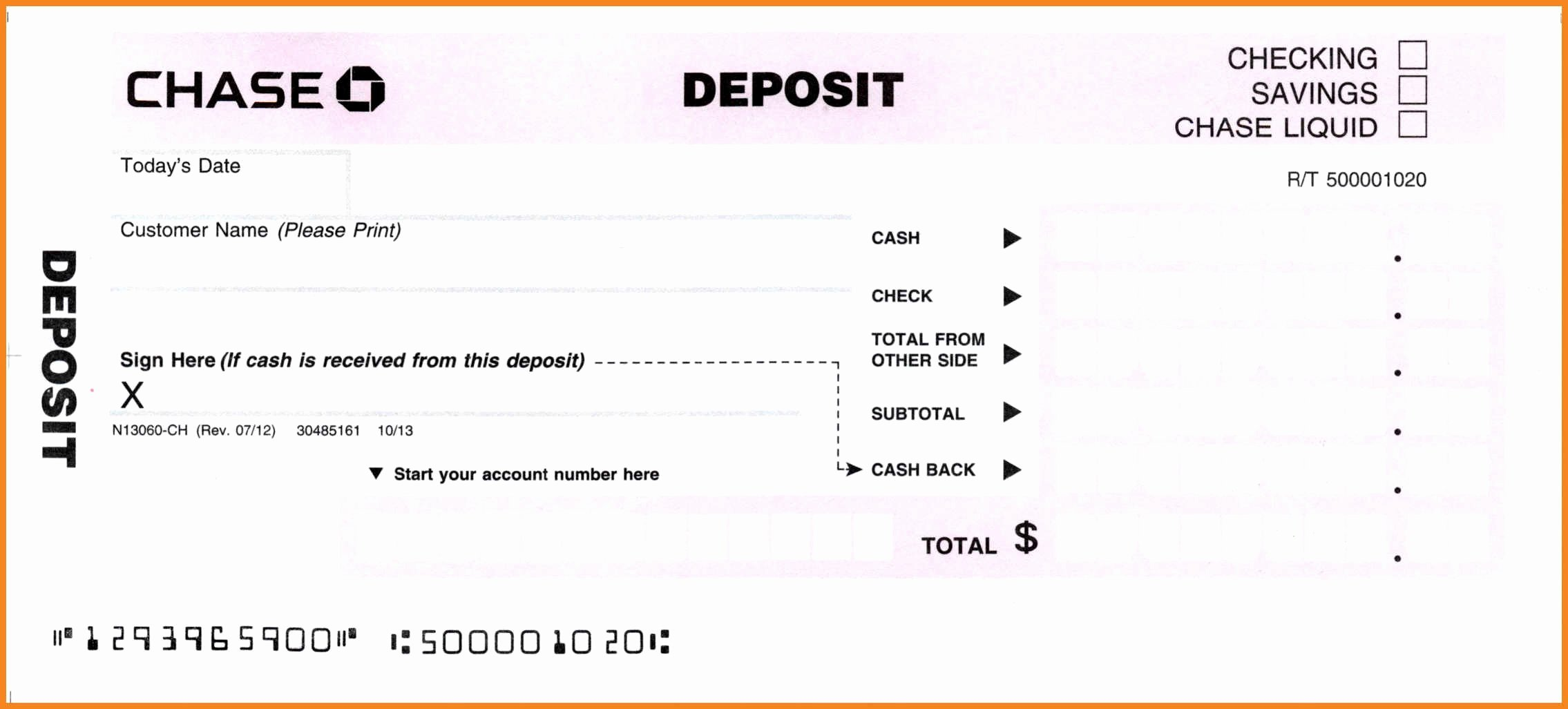Deposit Slips Template Word Unique Deposit Slip Template