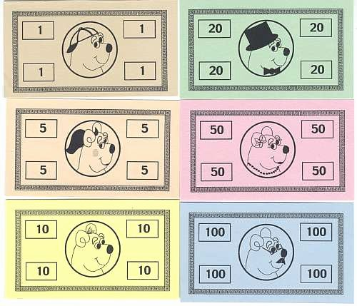 Design Your Own Money Template Beautiful Skybluepink Products Game Pieces