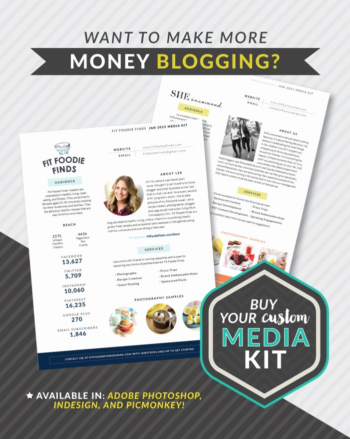 Design Your Own Money Template Best Of Customizable Media Kit Template