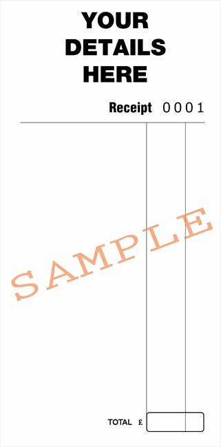Design Your Own Receipt Book Best Of Duplicate Design Bespoke Duplicate Books and Pads