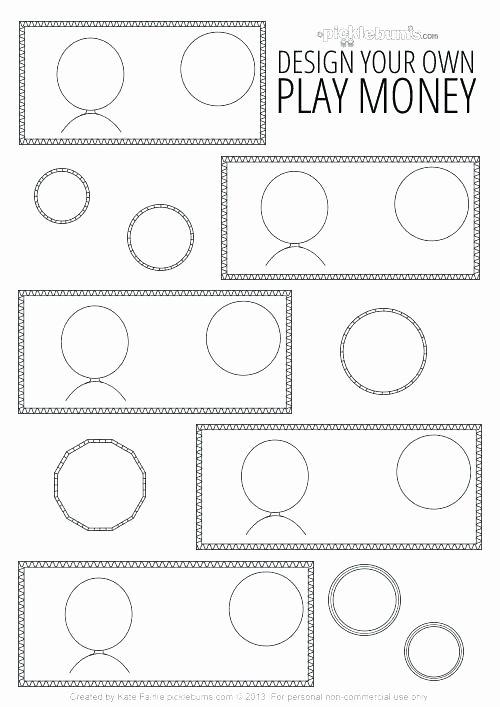 blank certificate dollar bill template templates money