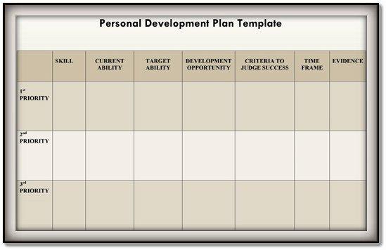 Development Plan Template Word Luxury Personal Development Plan Template – 9 Free Samples In Pdf