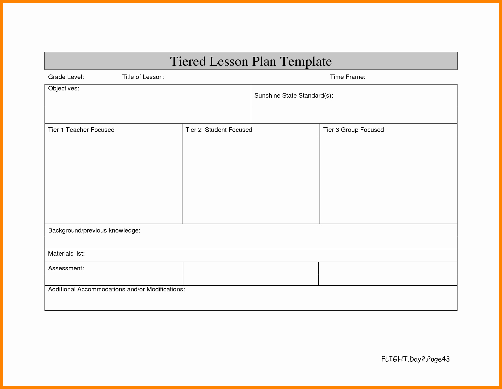 Differentiated Instruction Lesson Plan Template Lovely 15 Differentiated Lesson Plan Template
