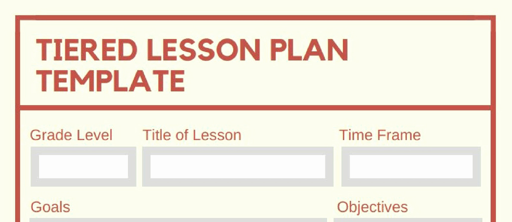 Differentiated Lesson Plan Template Luxury 5 Downloadable Math Lesson Plan Templates for Small Group