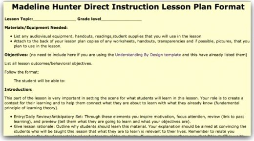 Direct Instruction Lesson Plan Template Awesome top 10 Lesson Plan Template forms and Websites