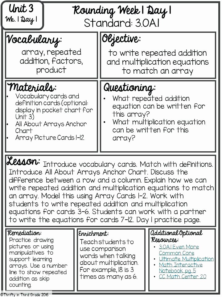 Direct Instruction Lesson Plan Template Unique Direct Interactive Instruction Lesson Plan Template Math