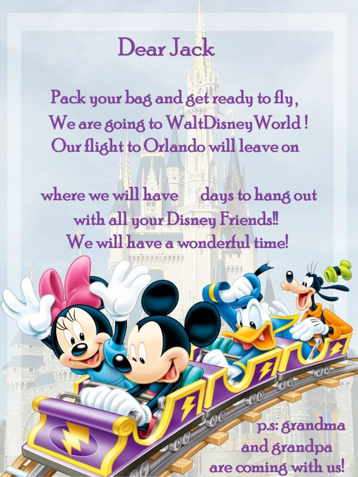 Disney Surprise Letter Template Awesome 47 Best Camp Mickey & Minnie Invitation Images On