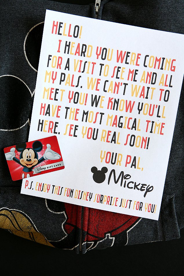 Disney Surprise Letter Template Best Of Disney Magic Mickey Mail Eighteen25