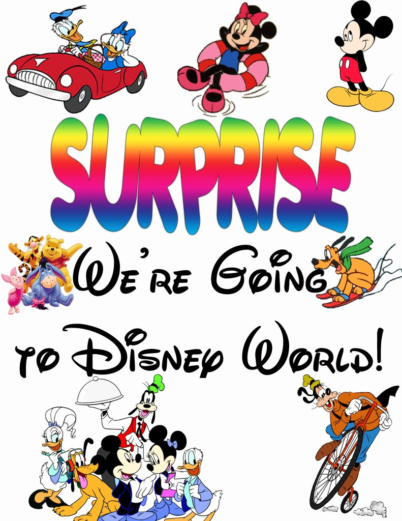 Disney Surprise Letter Template Elegant Surprise Letter