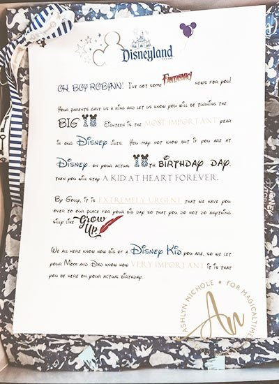 Disney Surprise Letter Template Luxury Disney Surprise Letter Disney T Disney Disney