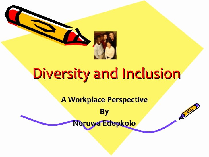 Diversity and Inclusion Plan Template Awesome Diversity and Inclusion