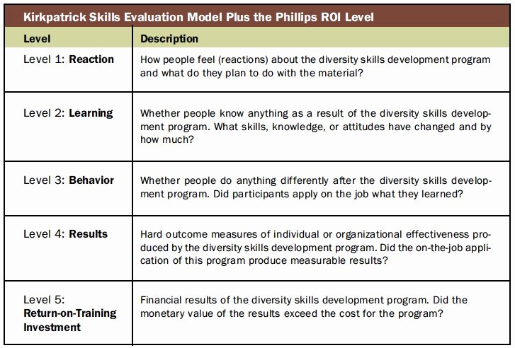 Diversity and Inclusion Plan Template Awesome Diversity Training Evaluation How Does Your Initiative