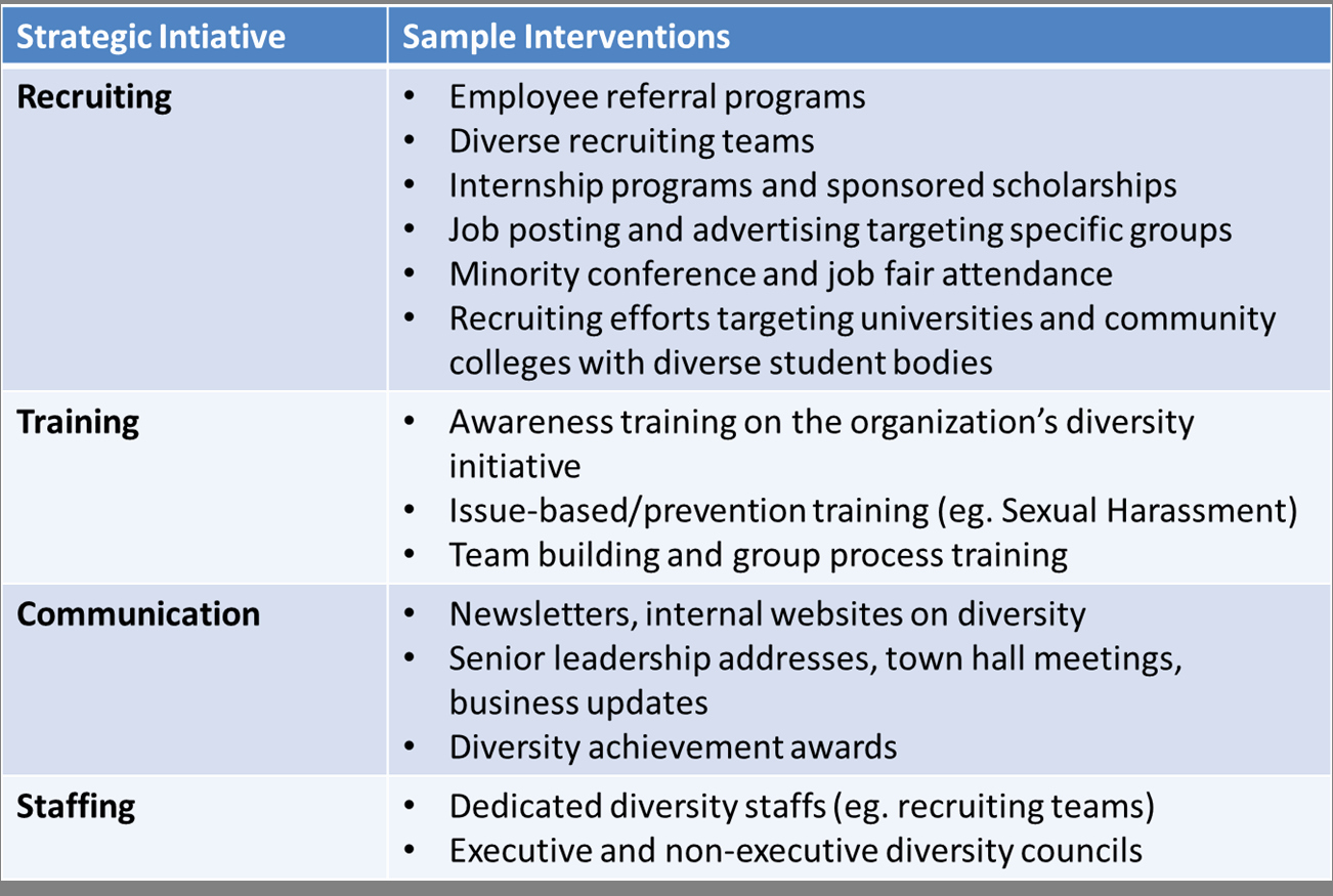Diversity and Inclusion Plan Template Unique Workplace Diversity Plan Example