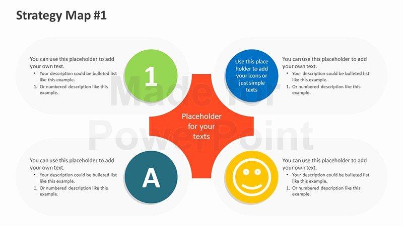 Diversity Strategic Plan Template Inspirational Strategy Map Templates Editable Powerpoint