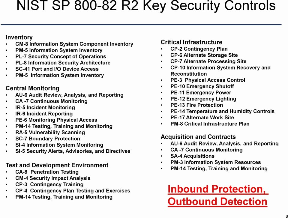Dod System Security Plan Template Awesome Cybersecuring Dod Industrial Control Systems E Year