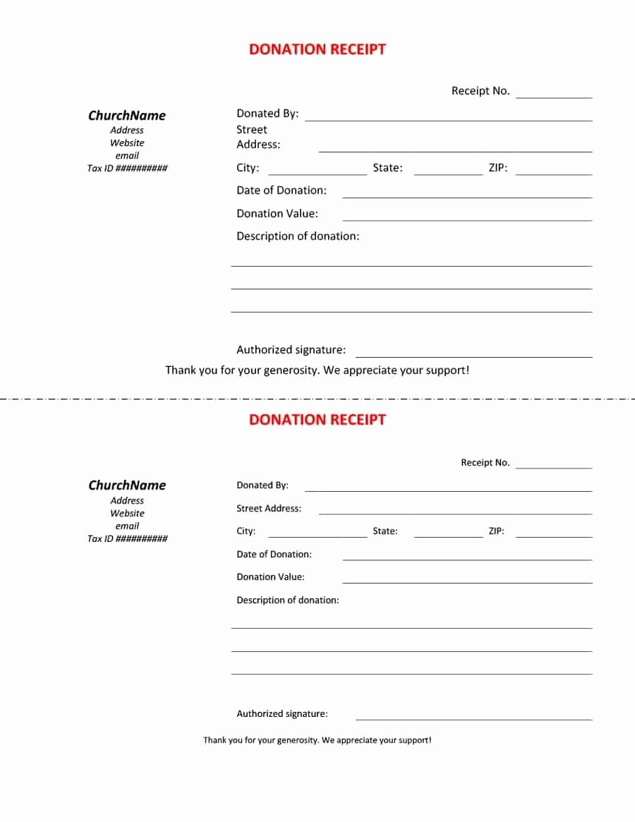 Donation Receipt Letter Template Lovely 40 Donation Receipt Templates & Letters [goodwill Non Profit]