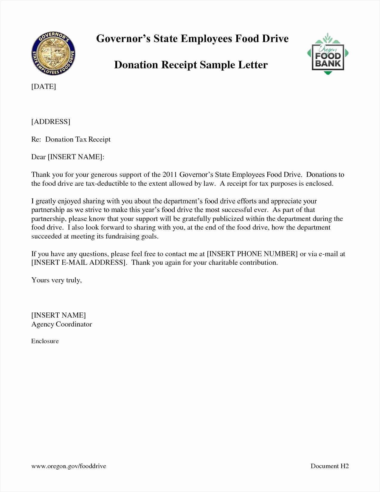 Donation Receipt Letter Template Unique Valid Sample Letter Requesting Donation Charity
