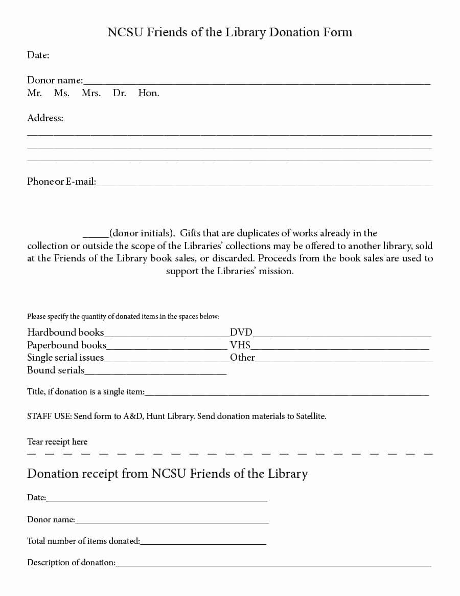 Donation Receipt Letter Templates Inspirational 40 Donation Receipt Templates & Letters [goodwill Non Profit]