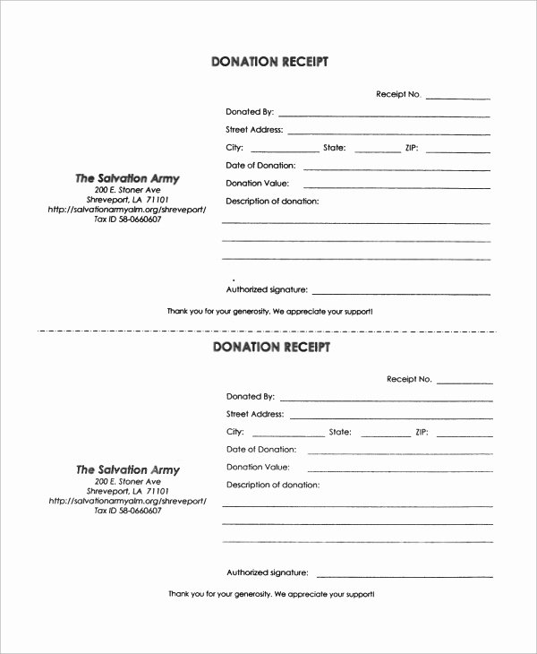 Donation Receipt Template Doc Awesome 53 Donation Receipt Template Doc