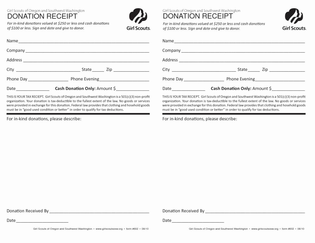 Donation Receipt Template for 501c3 Elegant 501c3 Donation Receipt