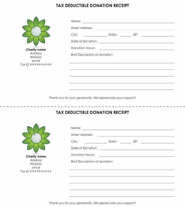 Donation Receipt Template for 501c3 Lovely Donation form Template Free Templates 501c3 Receipt