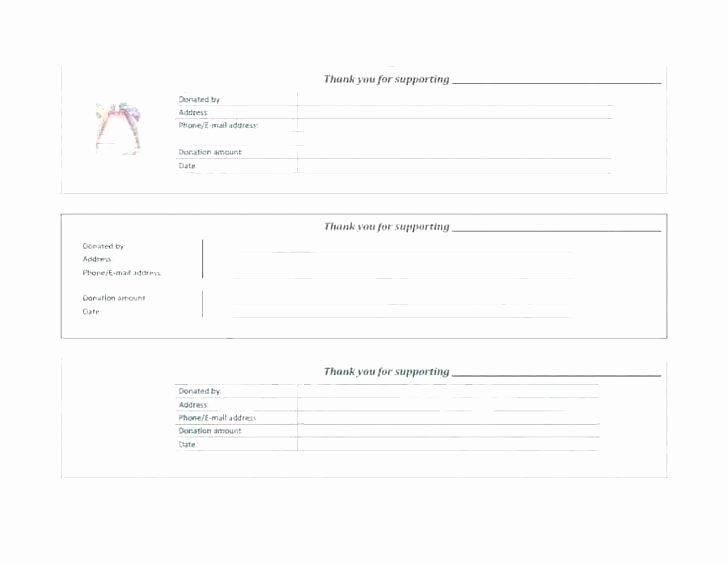 Donation Receipt Template Google Docs Best Of E Receipt Template