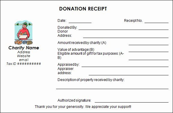 Donation Receipt Template Pdf Elegant Four Steps to Making Your Charitable Donation Eligible for
