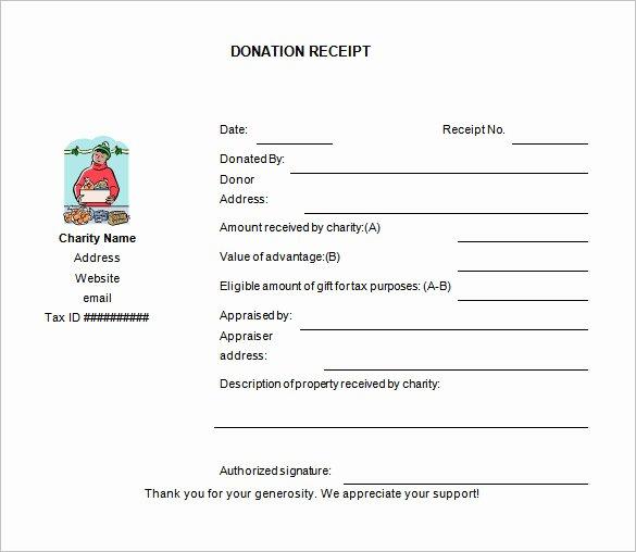 Donation Receipt Template Pdf Lovely 10 Donation Receipt Templates Doc Pdf