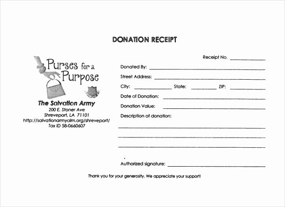 Donation Receipt Template Pdf Lovely 20 Donation Receipt Templates Pdf Word Excel Pages