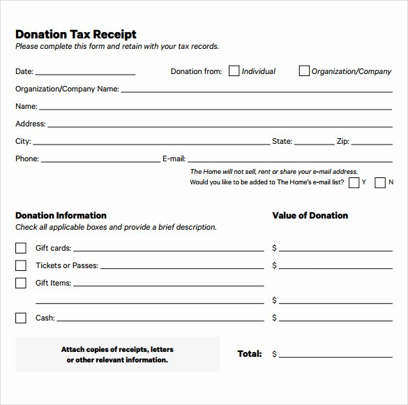 Donation Receipt Template Pdf New 20 Donation Receipt Templates Pdf Word Excel Pages
