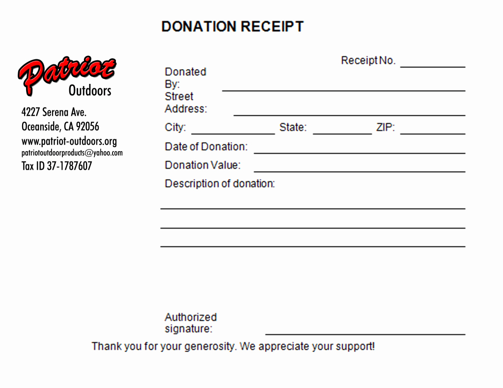 Donation Receipt Template Word Beautiful 5 Charitable Donation Receipt Templates formats