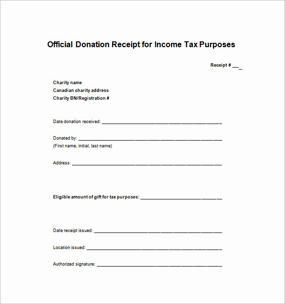 Donation Receipt Template Word Elegant 121 Receipt Templates Doc Excel Ai Pdf