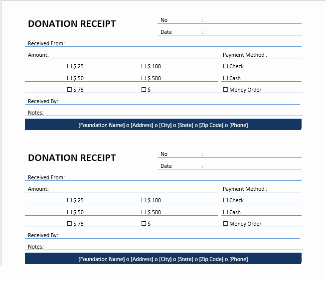 Donation Receipt Template Word Elegant Donation Receipt Templates 15 Free Printable Templates