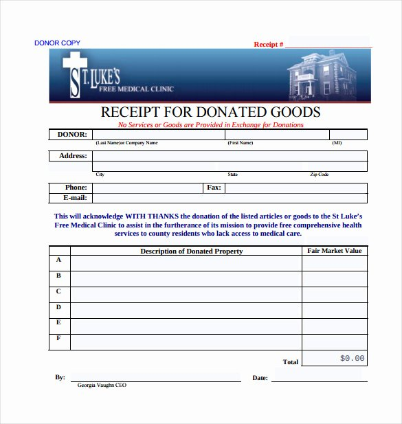 Donation Receipt Template Word Inspirational 20 Donation Receipt Templates Pdf Word Excel Pages