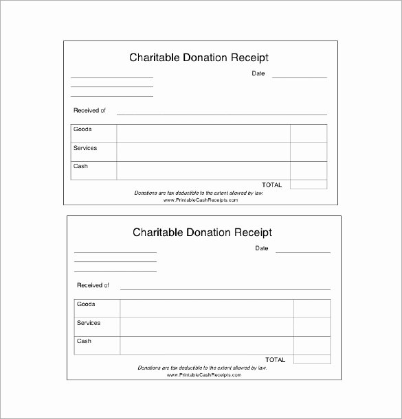 Donation Receipt Template Word Inspirational Charitable Donation Receipt Template Free Download Aashe