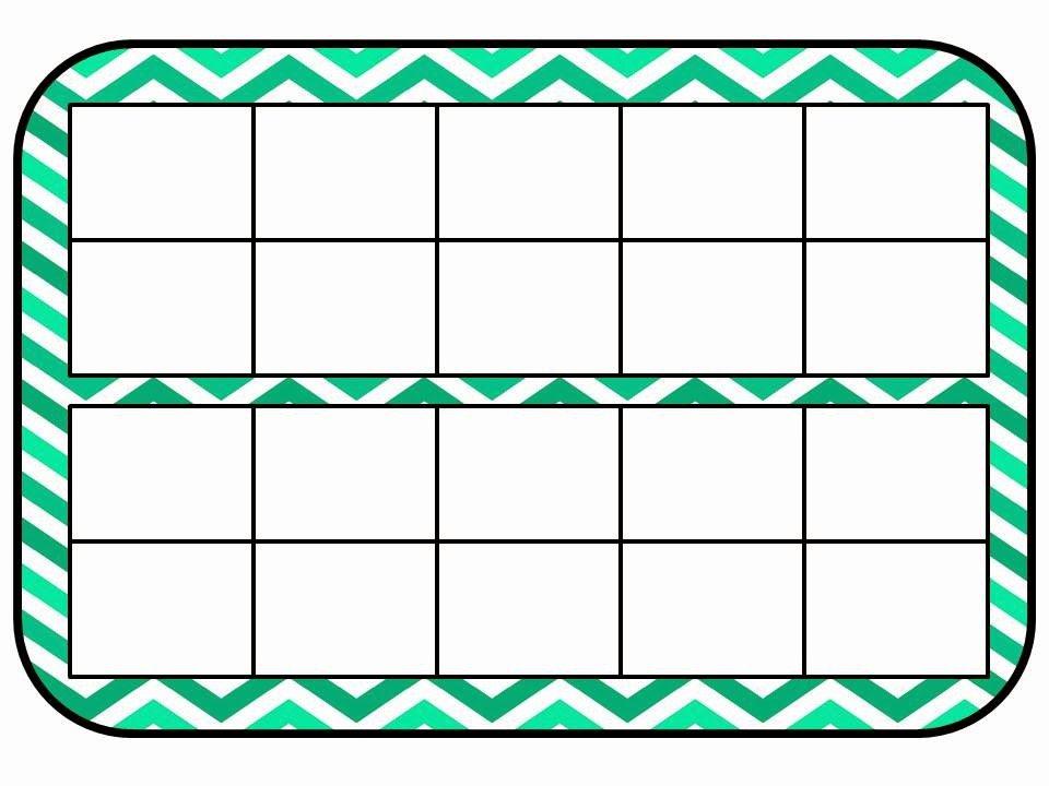 Double Ten Frame Template Elegant Mackey S Classroom Math Work Mats
