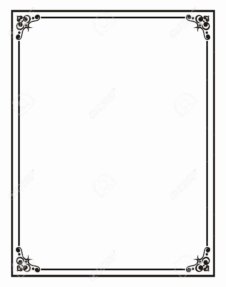 Double Ten Frame Template Lovely Home Fice Certificate Border Stock S
