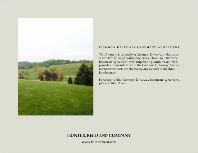 Driveway Easement Agreement Awesome Ceo S Hunt Country Estate