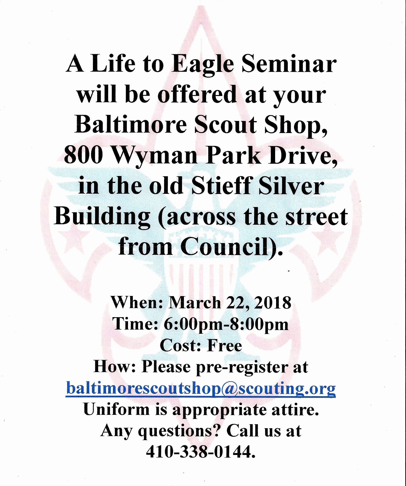 Eagle Letter Of Ambition Example New Baltimore area Council Boy Scouts Of America