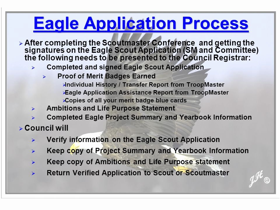 Eagle Scout Letter Of Ambition Example Awesome Horseshoe Trail District Advancement Chairman Ppt