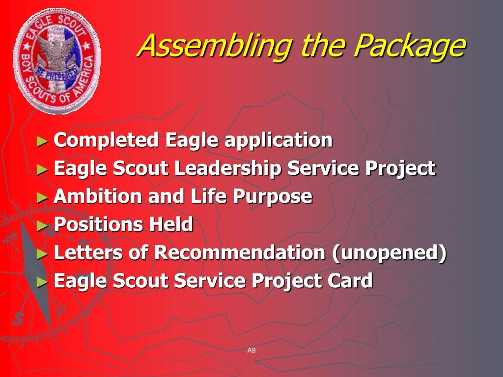Eagle Scout Letter Of Ambition Example Best Of Ppt Life to Eagle Training Powerpoint Presentation Id