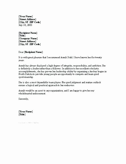 Eagle Scout Recommendation Letter Beautiful Eagle Scout Reference Letter and Character for School