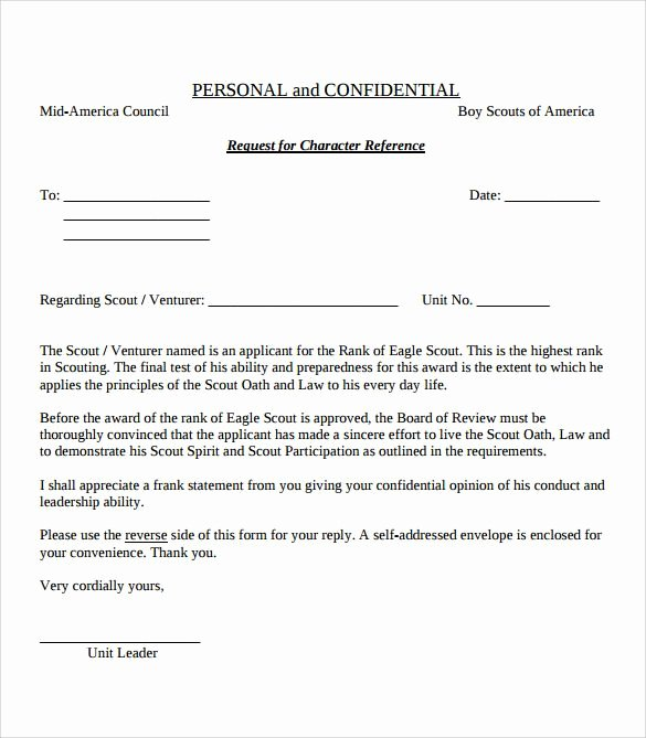 Eagle Scout Recommendation Letter Best Of View source Image
