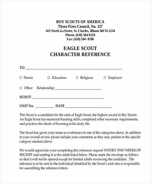 Eagle Scout Recommendation Letter Sample Best Of Eagle Scout Letter Of Re Mendation Sample From Parents