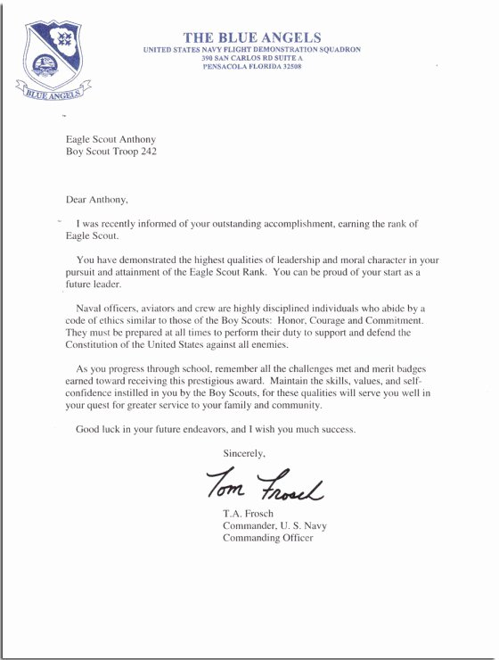 Eagle Scout Recommendation Letter Template Best Of Eagle Scout Re Mendation Letter Sample